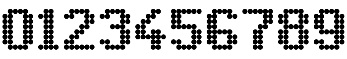 Led 8x6 Regular Font OTHER CHARS