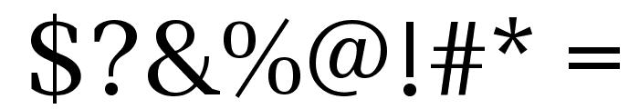 Ledger Font OTHER CHARS