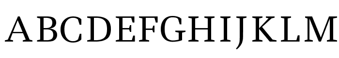 Ledger Font UPPERCASE