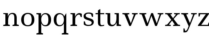 Ledger Font LOWERCASE