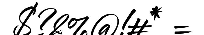 Ledgewood Font OTHER CHARS