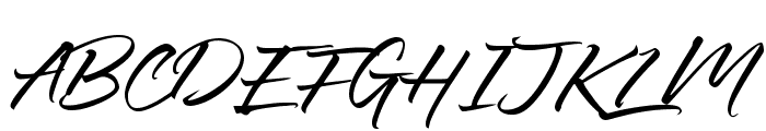 Ledgewood Font UPPERCASE