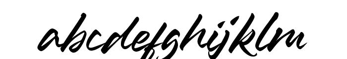 Ledgewood Font LOWERCASE