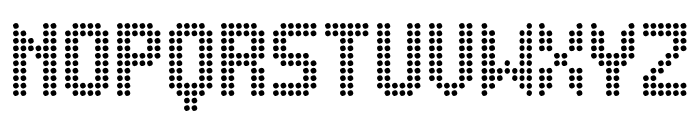 Ledsitex St Font UPPERCASE