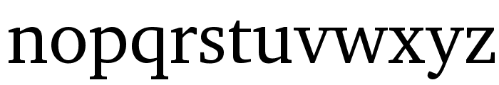 LeedsBit EuroNorth Normal Font LOWERCASE