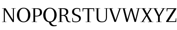 LeedsUni Font UPPERCASE