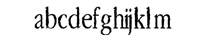 Lefferts Corners  2 Font LOWERCASE