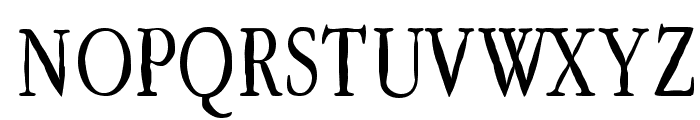 Lefferts Corners Font UPPERCASE