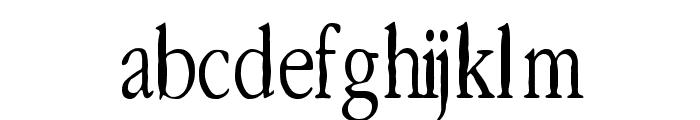 Lefferts Corners Font LOWERCASE