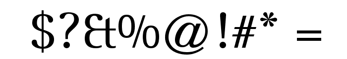 Leftist Mono Serif Font OTHER CHARS