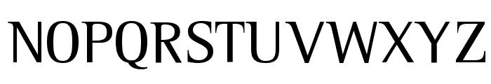 Leftist Mono Serif Font UPPERCASE