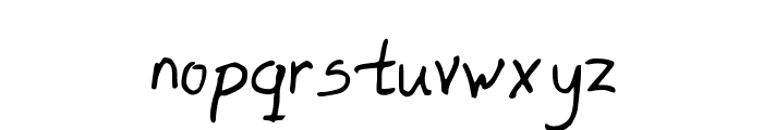 Lefty Dave Font LOWERCASE