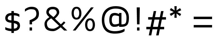 Legendum Regular Font OTHER CHARS