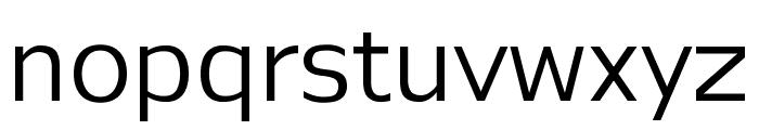Legendum Regular Font LOWERCASE