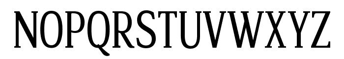 Legib Squeeze Font UPPERCASE