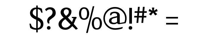 Legibility Font OTHER CHARS