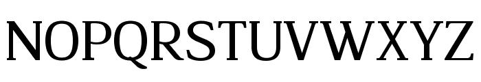 Legibility Font UPPERCASE