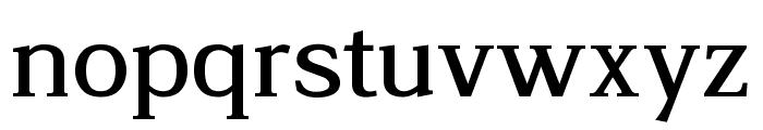 Legibility Font LOWERCASE
