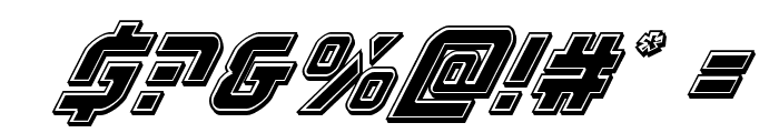 Legio Sabina Bevel Italic Font OTHER CHARS
