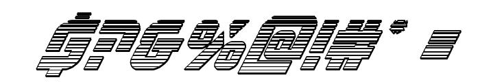 Legio Sabina Chrome Italic Font OTHER CHARS