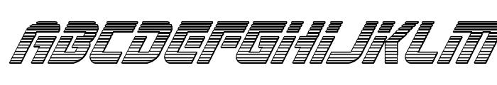 Legio Sabina Chrome Italic Font LOWERCASE
