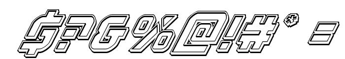 Legio Sabina Engraved Italic Font OTHER CHARS