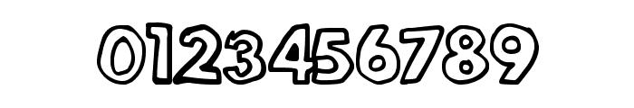 LegitOutline Font OTHER CHARS