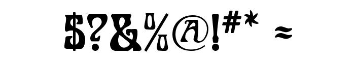 Legrand Font OTHER CHARS