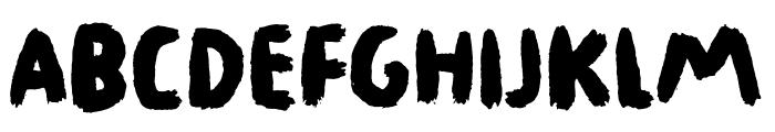 Legwork DEMO Regular Font UPPERCASE