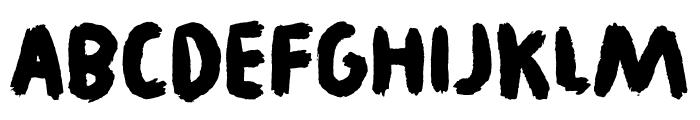 Legwork DEMO Regular Font LOWERCASE