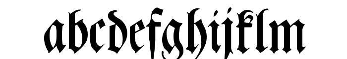 Leibniz-Fraktur Font LOWERCASE