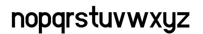 Leipziger Messe Font LOWERCASE