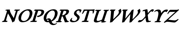 Lekhana Bold Italic Font UPPERCASE