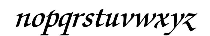 Lekhana Bold Italic Font LOWERCASE