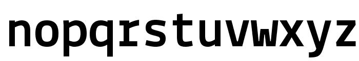 Lekton-Bold Font LOWERCASE