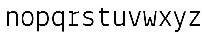 Lekton04 Thin Font LOWERCASE