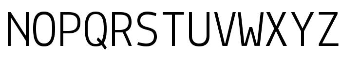 Lekton Font UPPERCASE