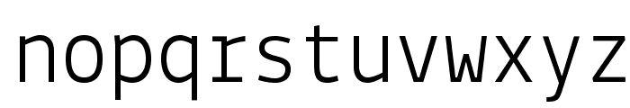 Lekton Font LOWERCASE