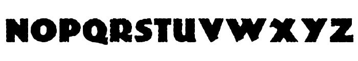 Lemiesz Font LOWERCASE