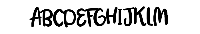 Lemon Juice Font UPPERCASE
