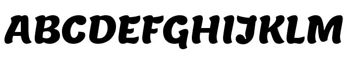 Lemon Regular Font UPPERCASE