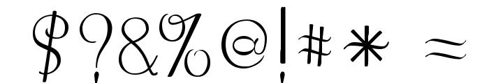 LemonChicken Font OTHER CHARS