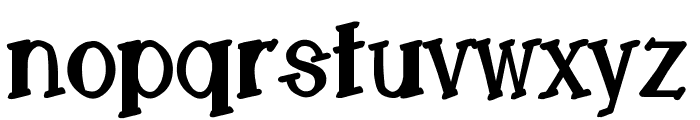 LemonCookieBoldCondensed Font LOWERCASE
