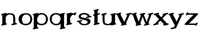 LemonCookieBold Font LOWERCASE