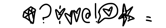 LemonCreamPie Font OTHER CHARS