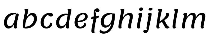 Lemonada Regular Font LOWERCASE
