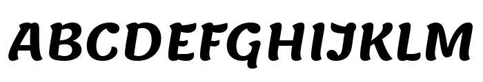 Lemonada SemiBold Font UPPERCASE