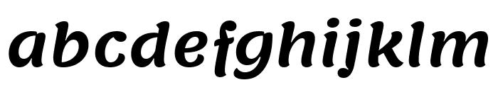 Lemonada SemiBold Font LOWERCASE