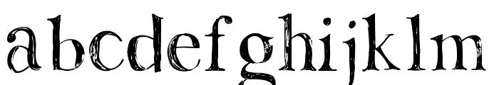 Lemonade Font LOWERCASE