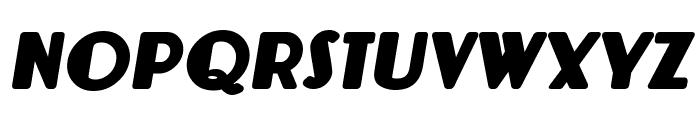 Lemondrop Bold Italic Font UPPERCASE